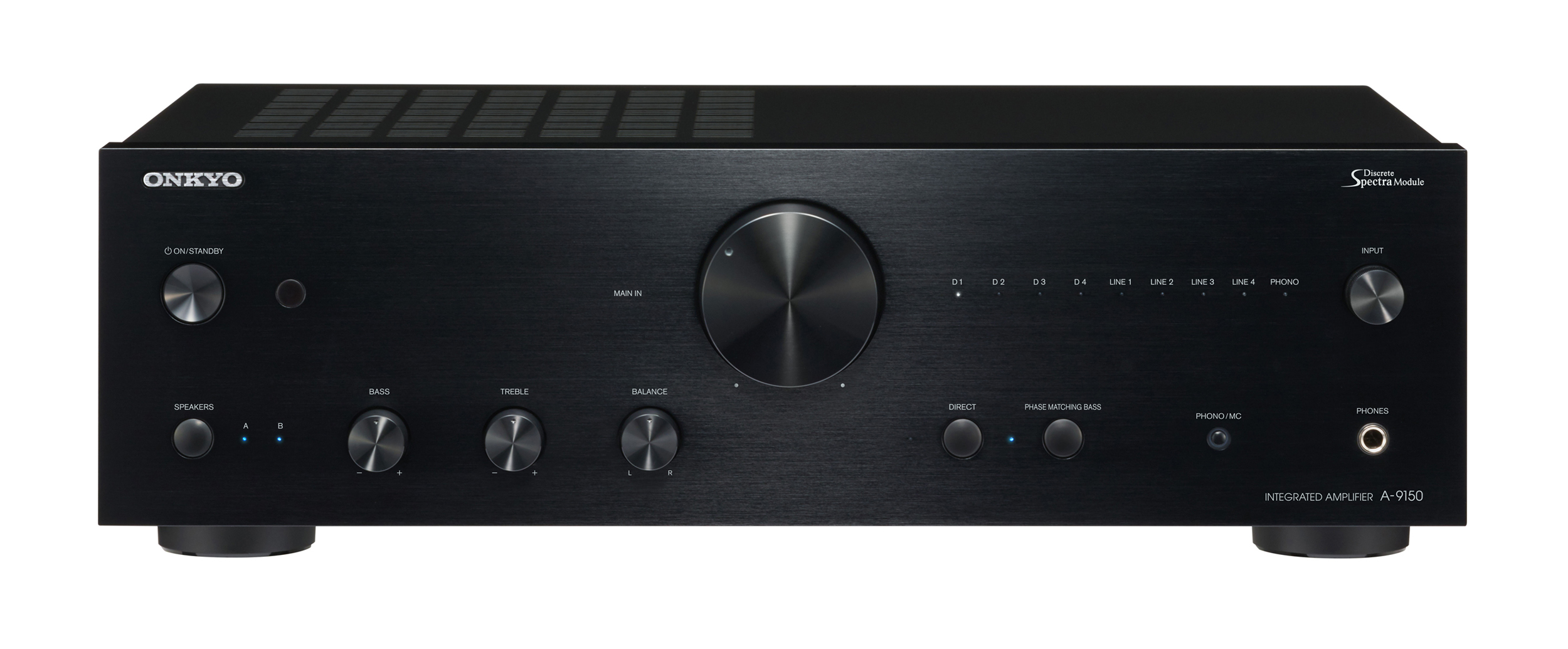 A-9150-B, HIFI AMPLIFIER EQUAL, black