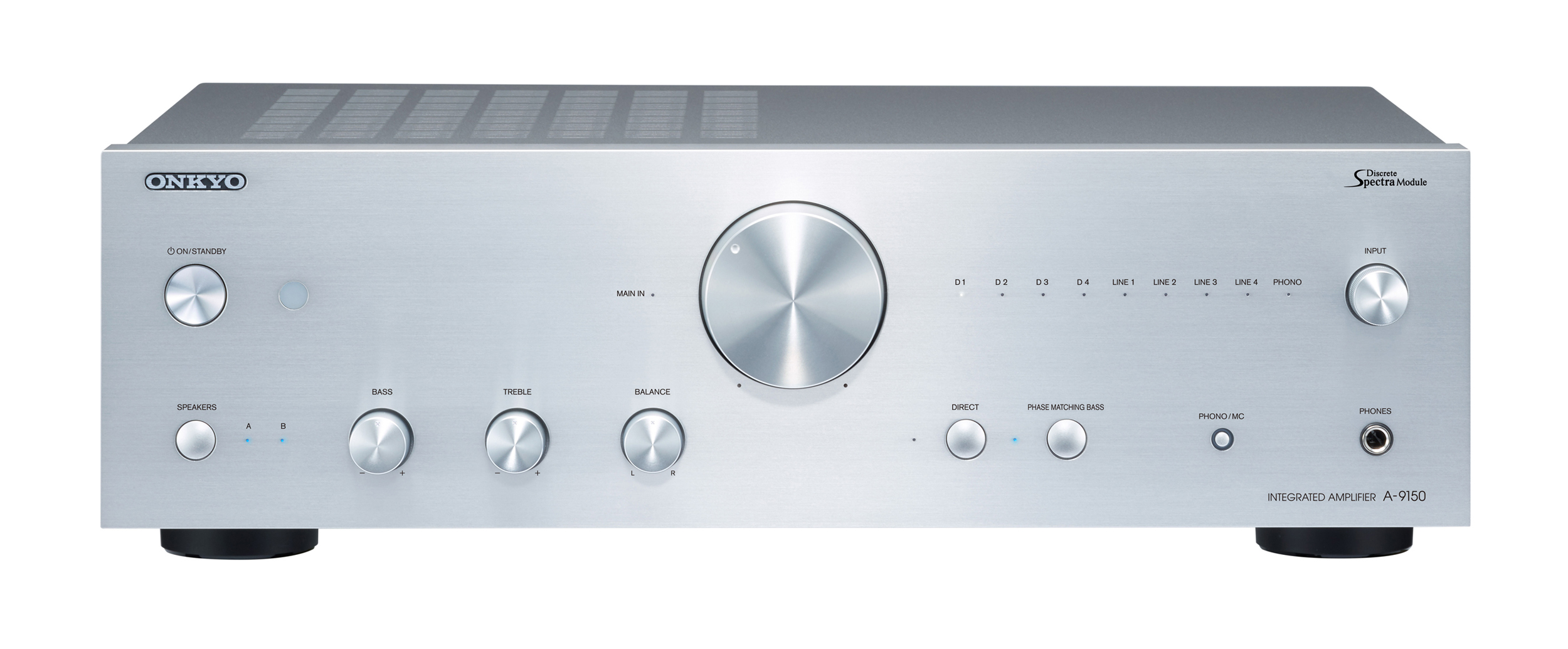 A-9150-S, HIFI AMPLIFIER EQUAL, silver