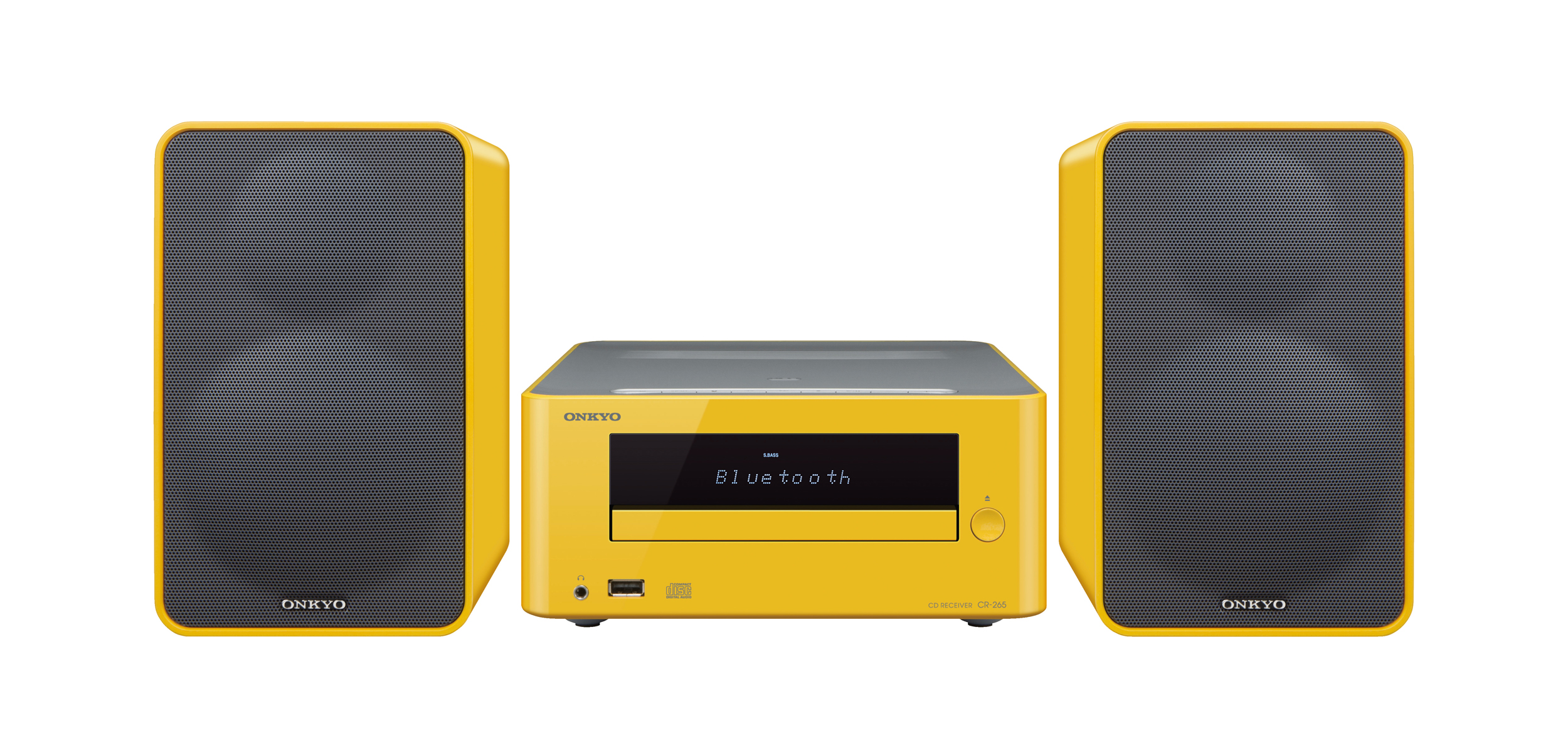CS-265-Y, HIFI MICRO SYSTEM, yellow