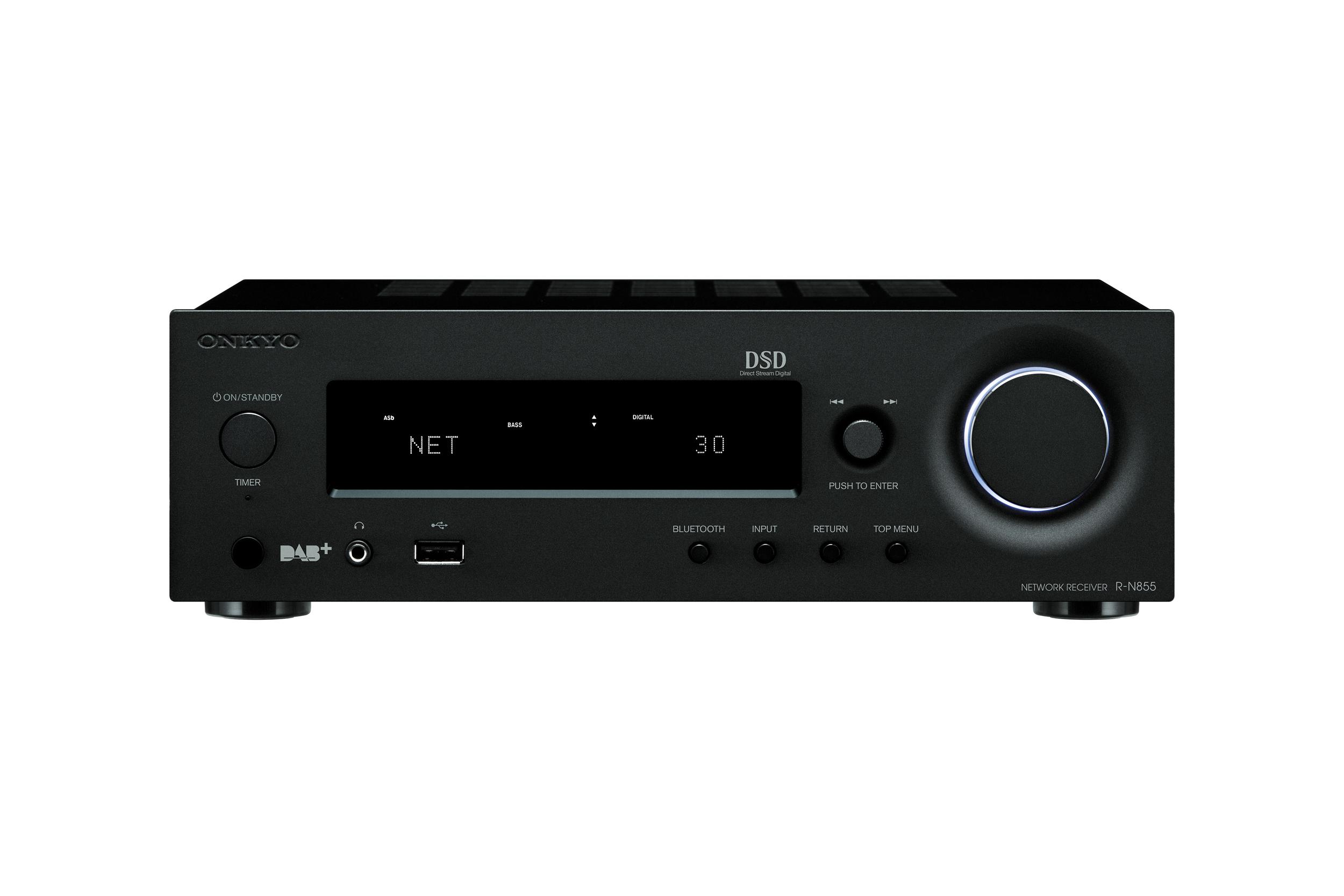R-N855-B, HIFI RECEIVER, black