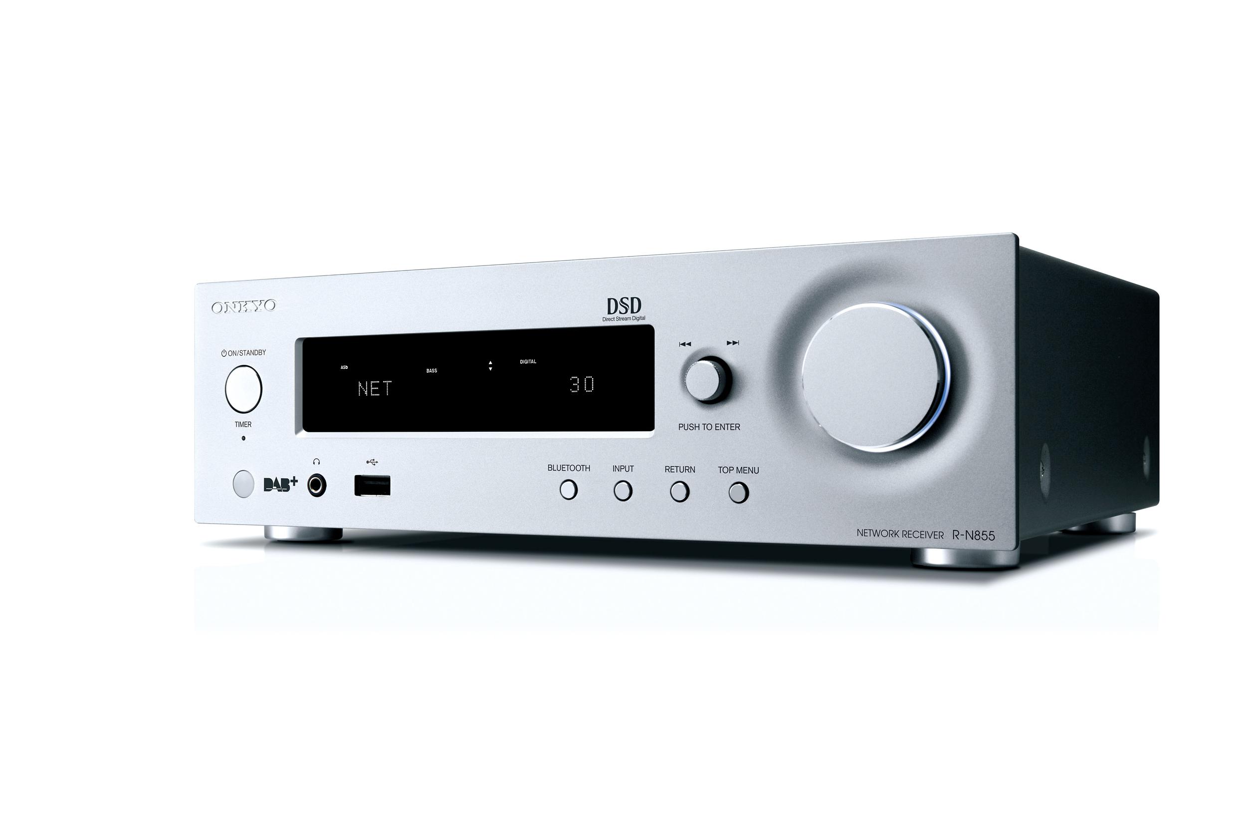 R-N855-S, AV-receiver, silver