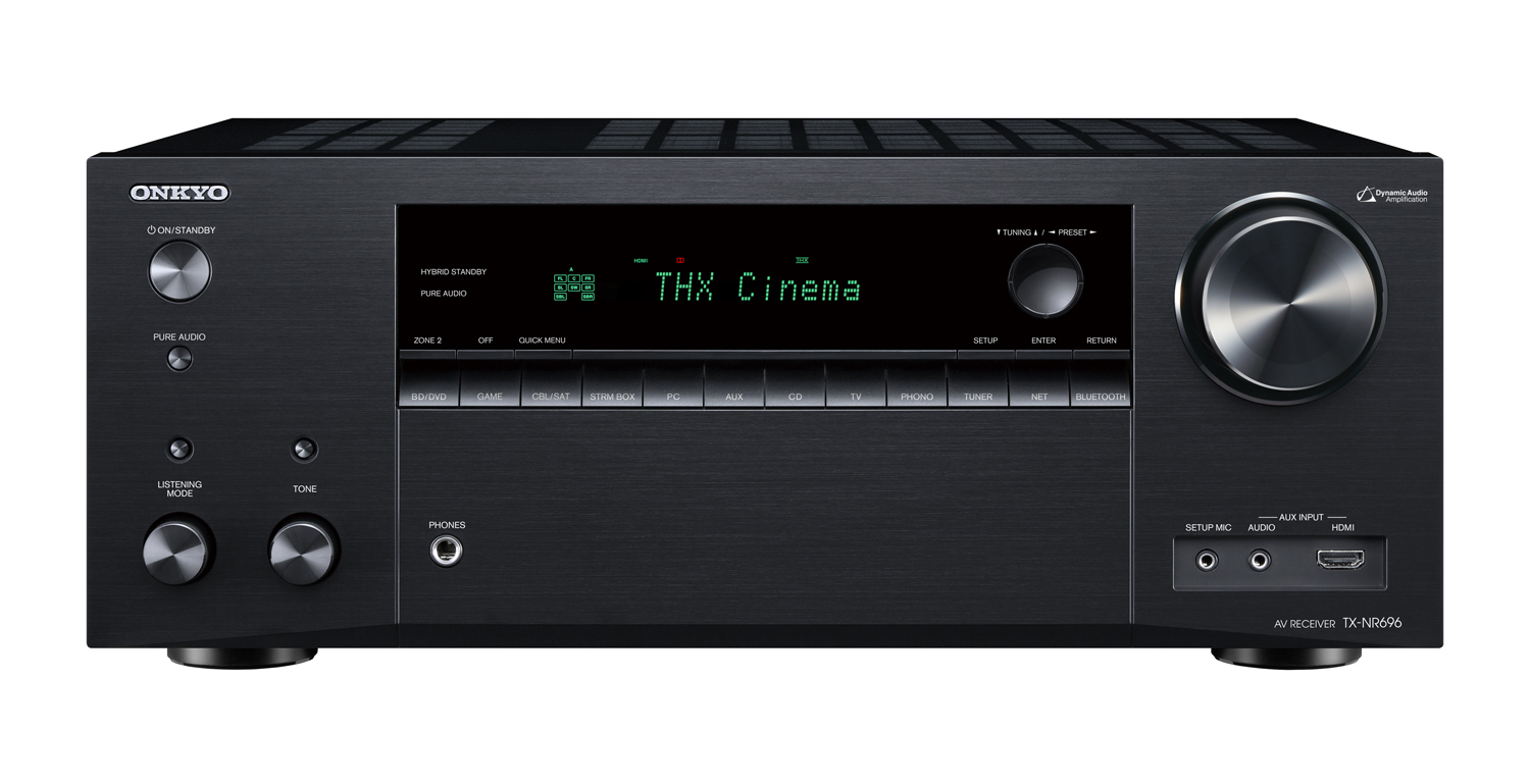 TX-NR696-B, AV-RECEIVER, black