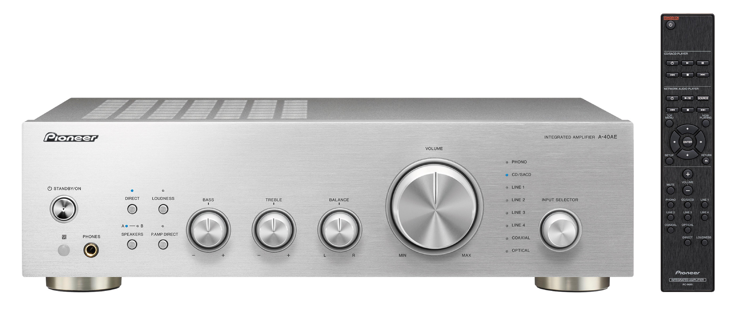 A-40AE-S, HIFI AMPLIFIER EQUAL, silver