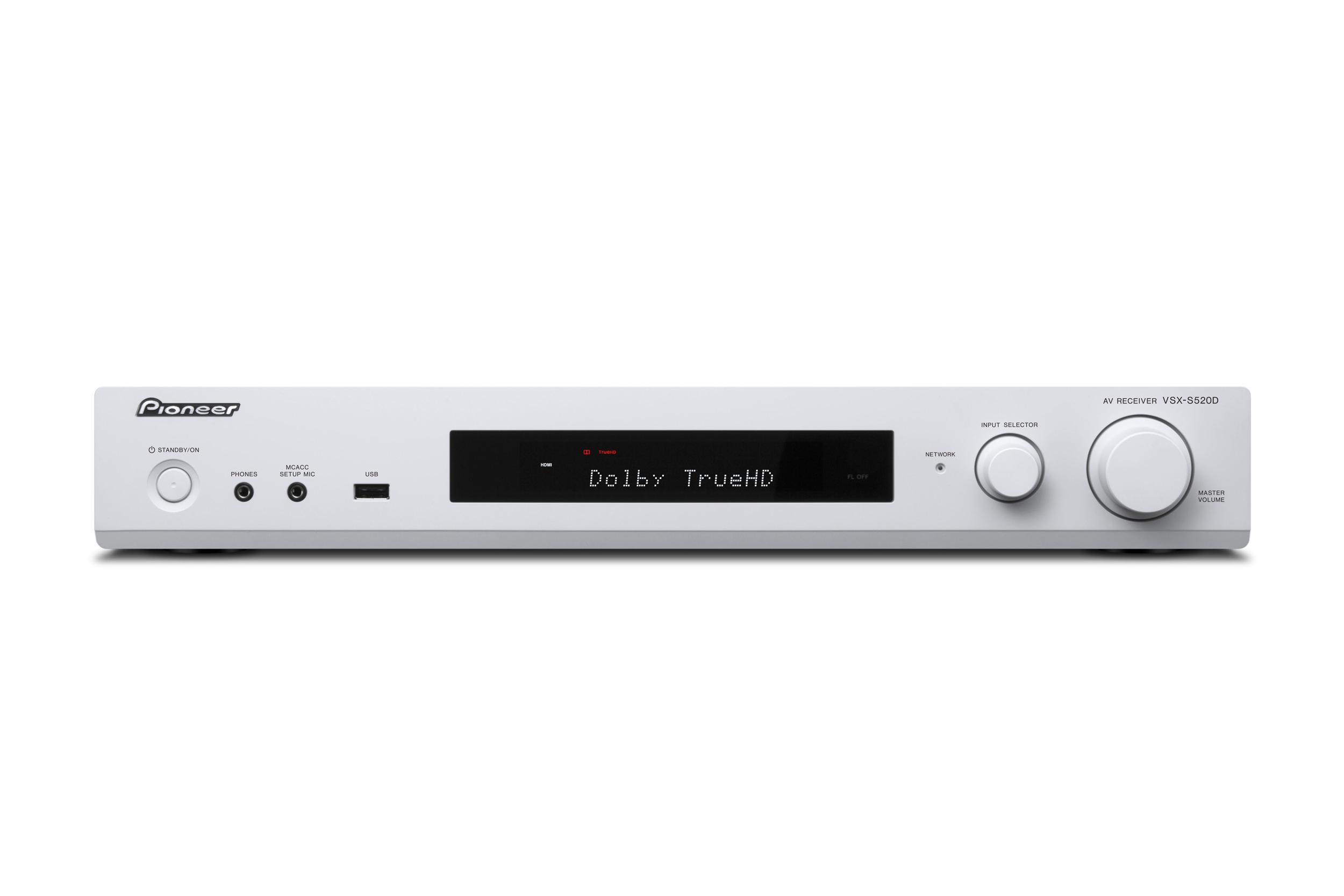 VSX-S520D-W, AV-RECEIVER, white