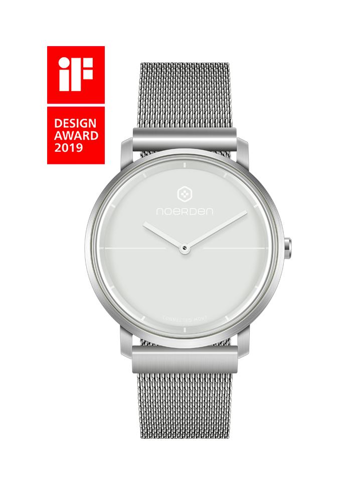 Life 2+ , hybrid smartwatch, grey