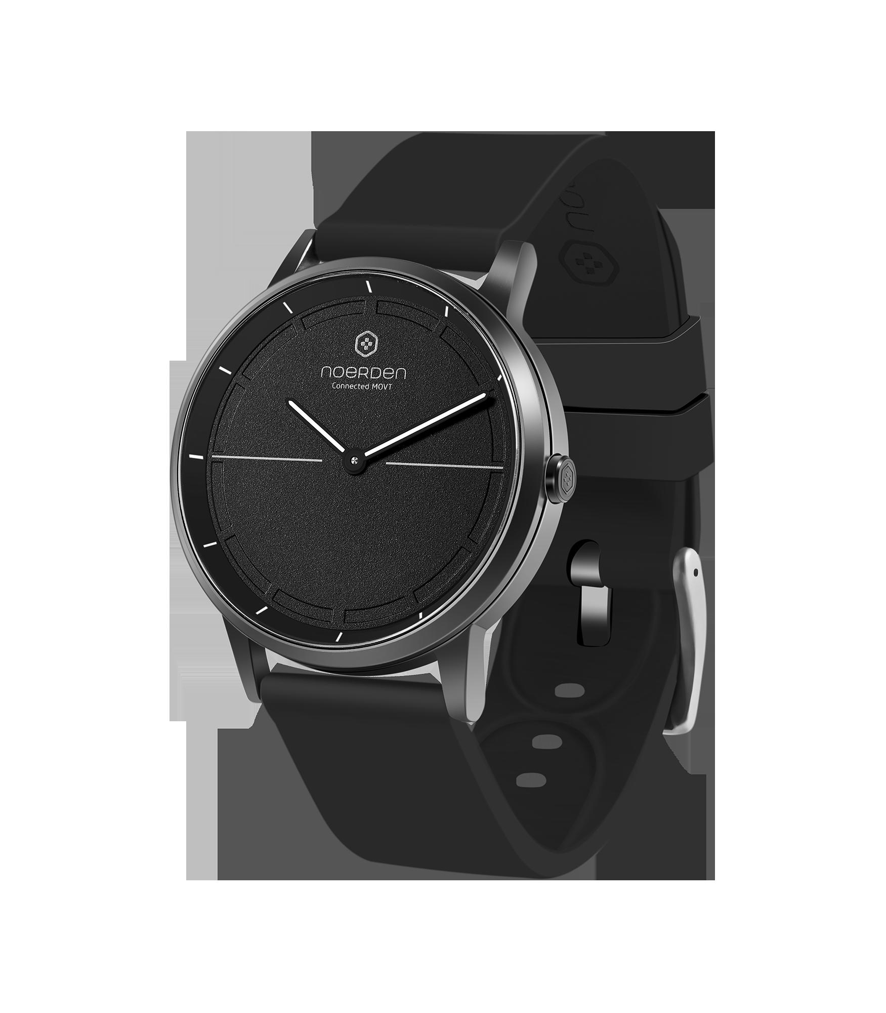Mate 2, hybrid smartwatch, black