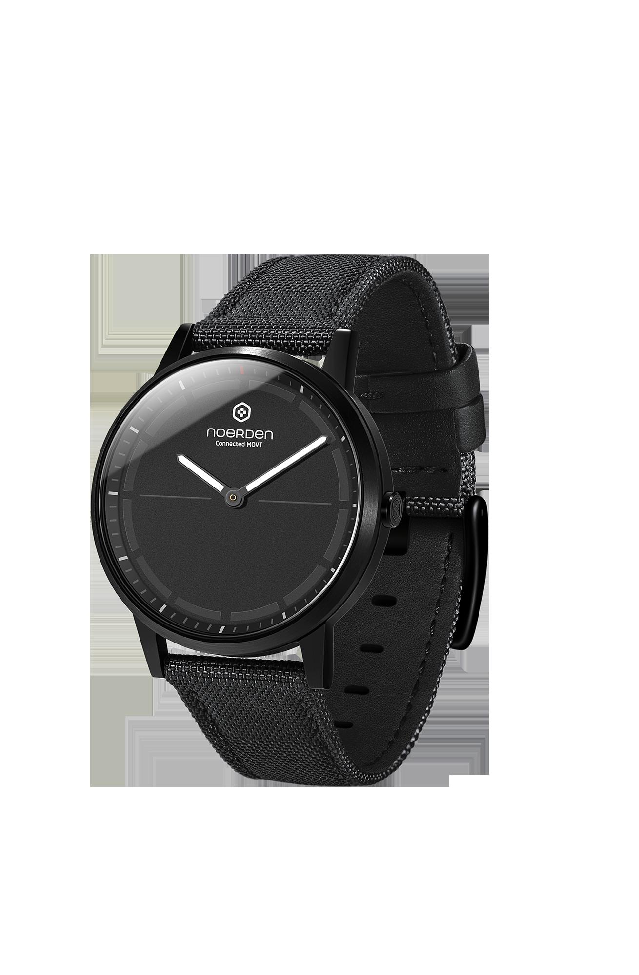 Mate 2+, hybrid smartwatch, black