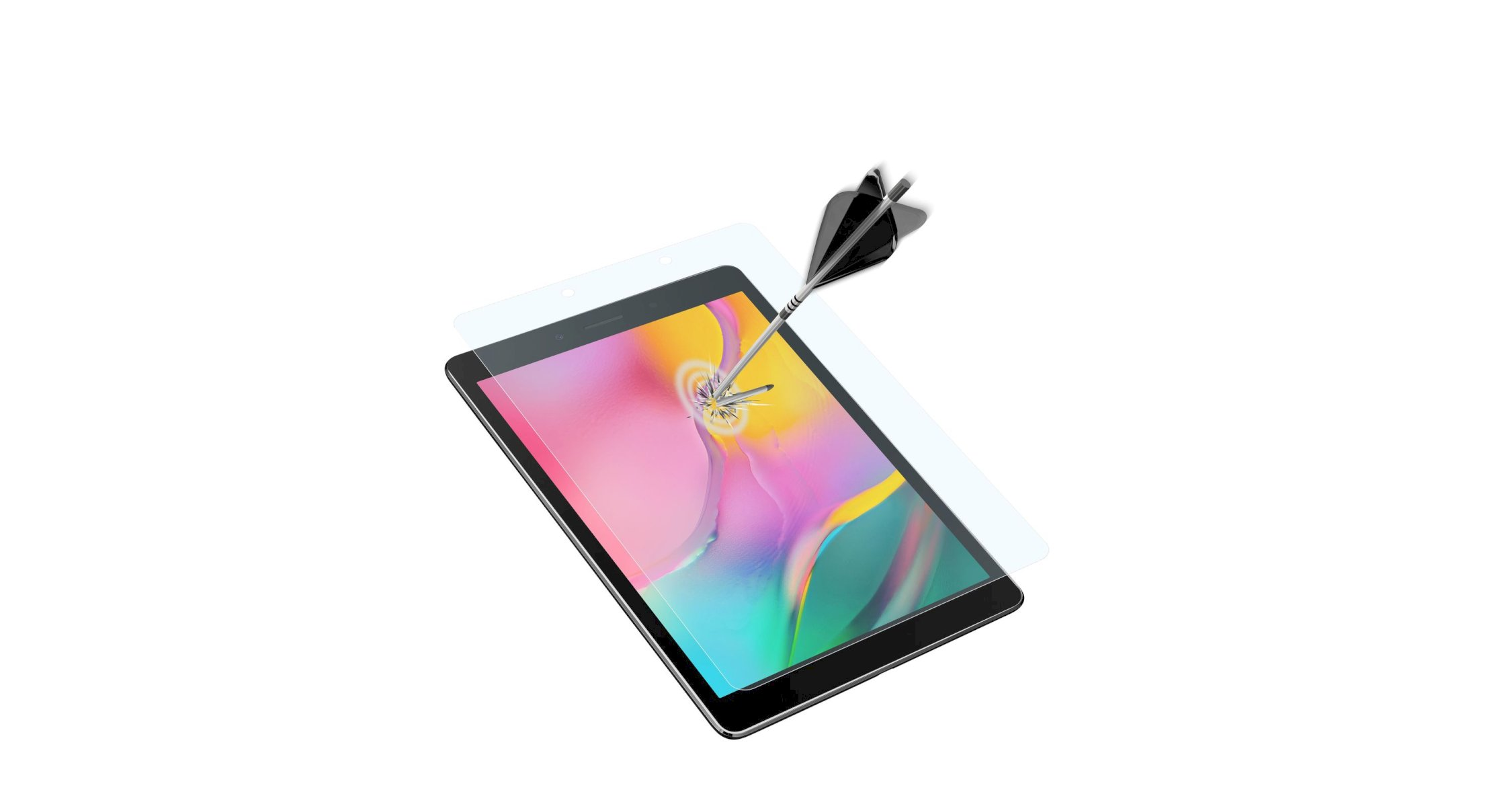 Samsung Galaxy Tab A 8.0 (2019), SP tempered glass, transparent