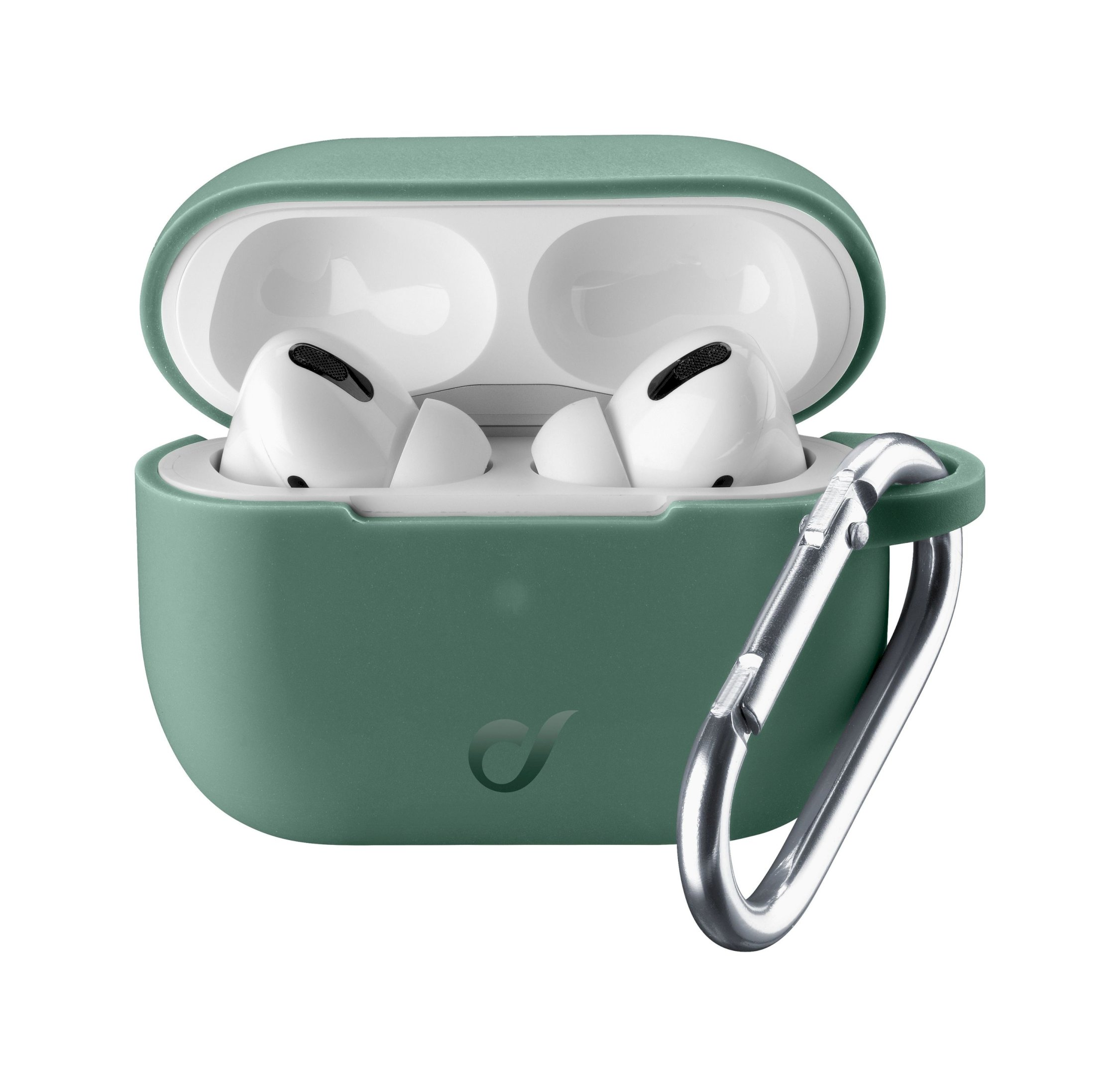 Airpods Pro, case bounce, green