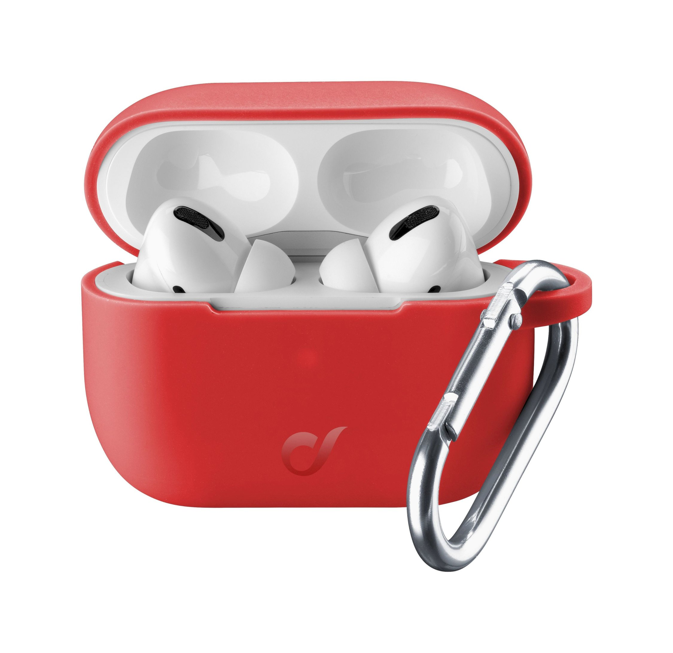 Airpods Pro, case bounce, red
