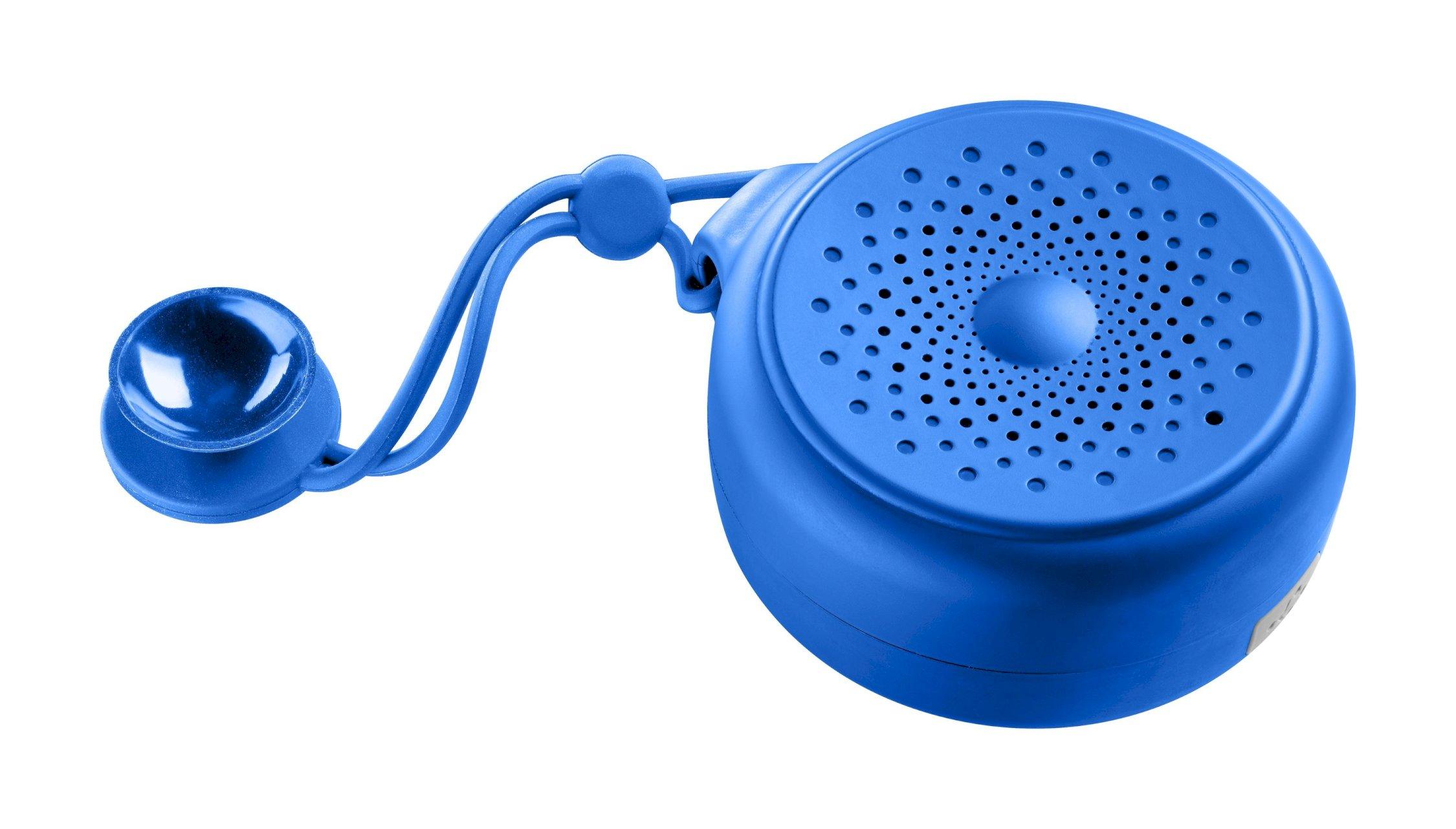 Speaker BT, speaker shower BT, blue