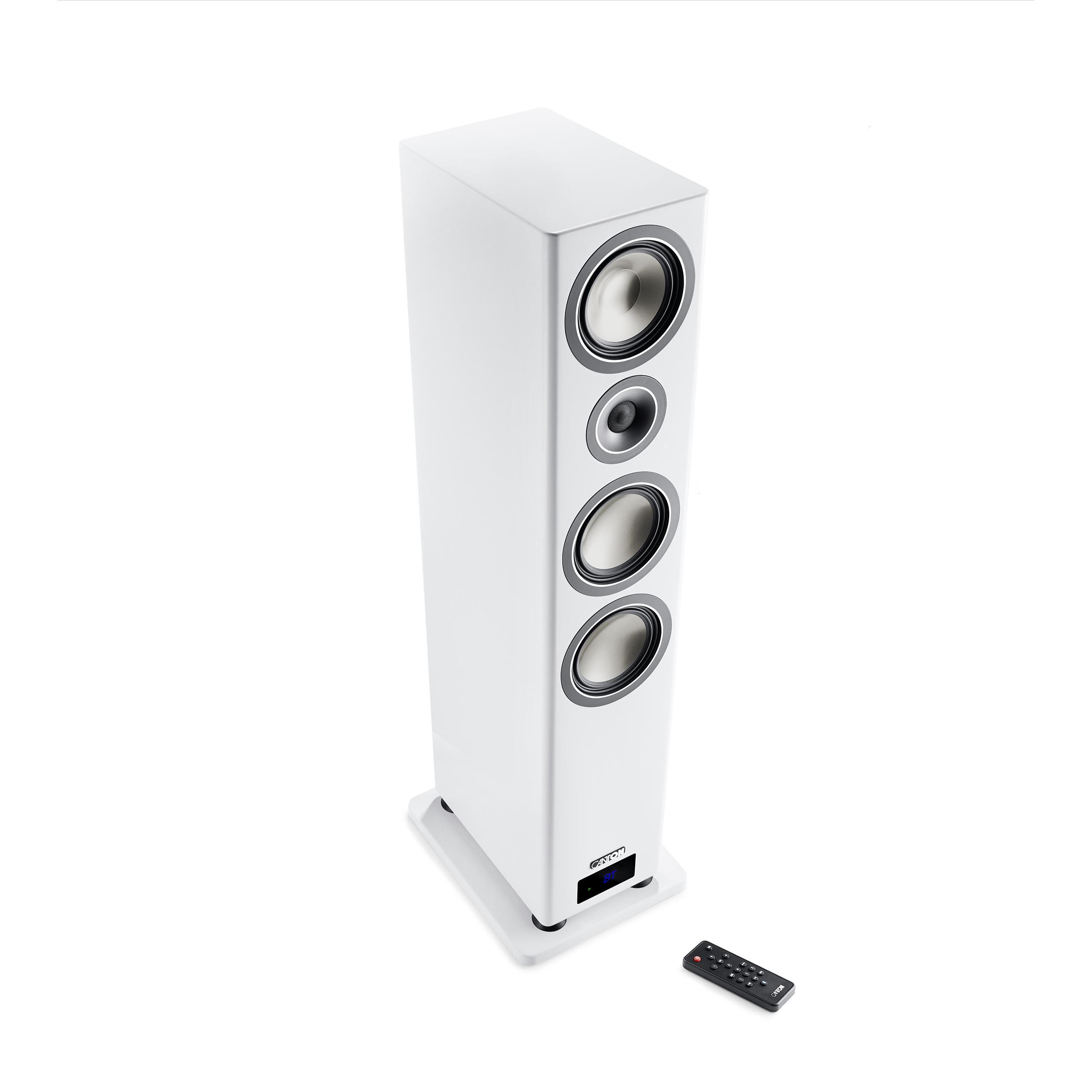 Smart Chrono SL 8, active wireless floorstand, white (2 pc)