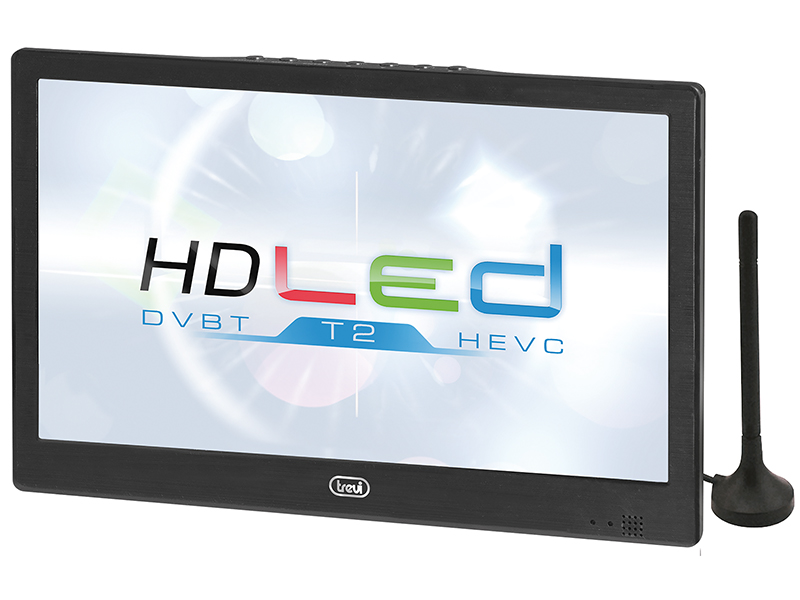 "LTV-2010-HE, portable DVBT-TV 10,1"", black"