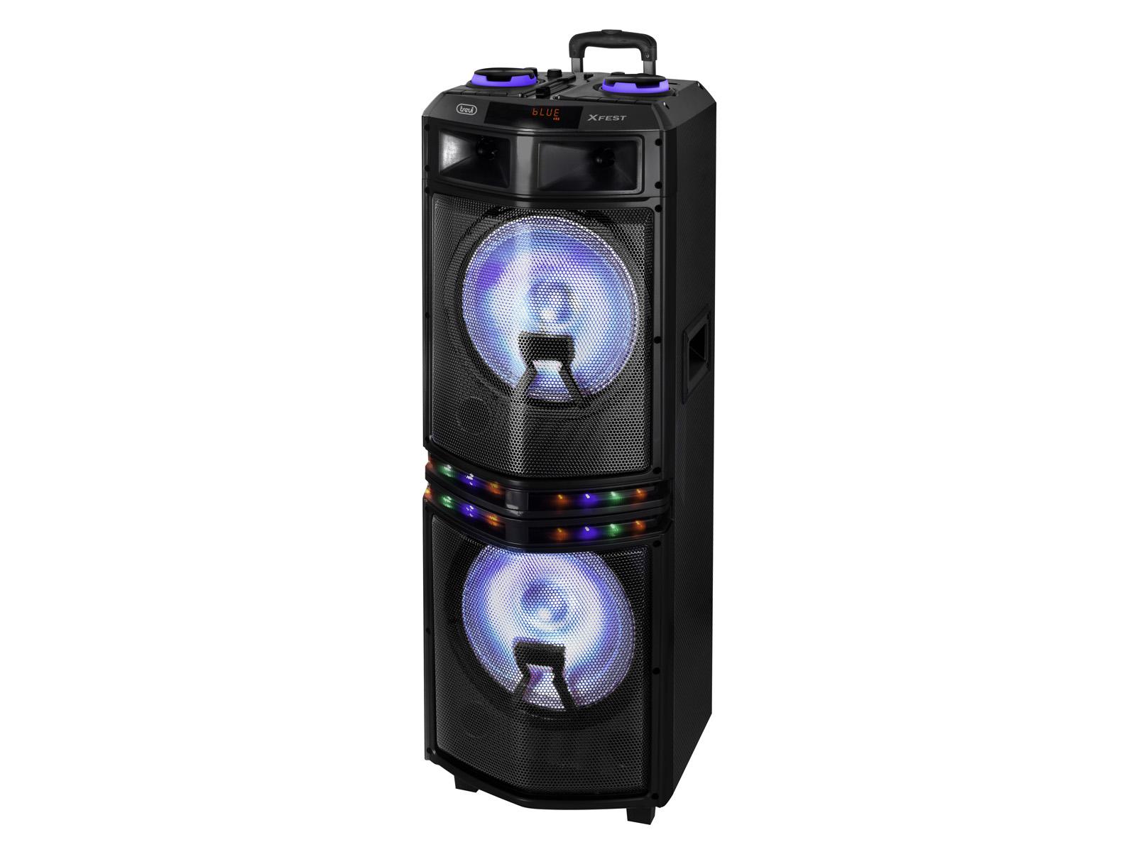 XF-3200-PRO, party speaker 160w, black
