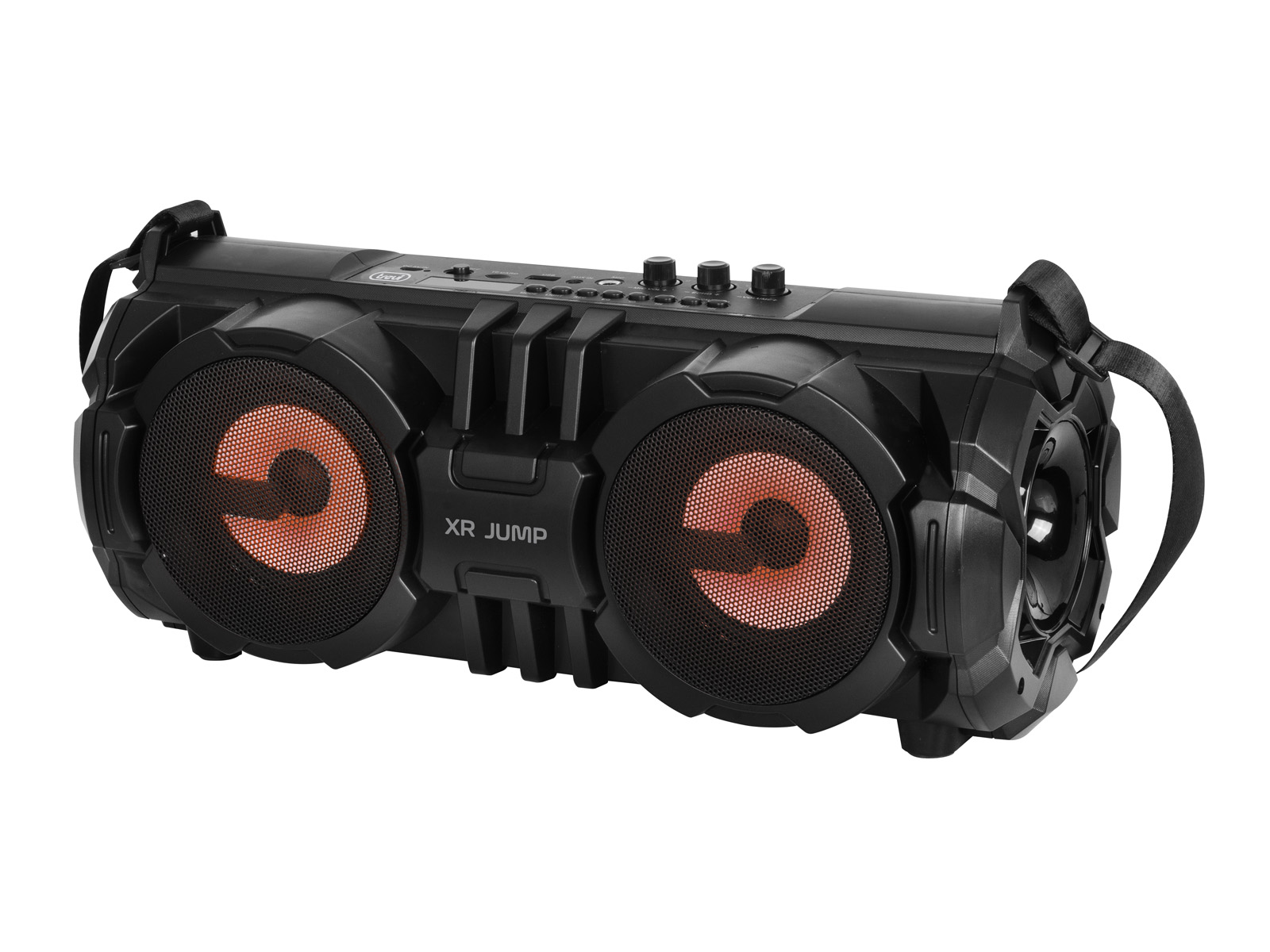 XR-190-BT, portable party speaker 24w, black
