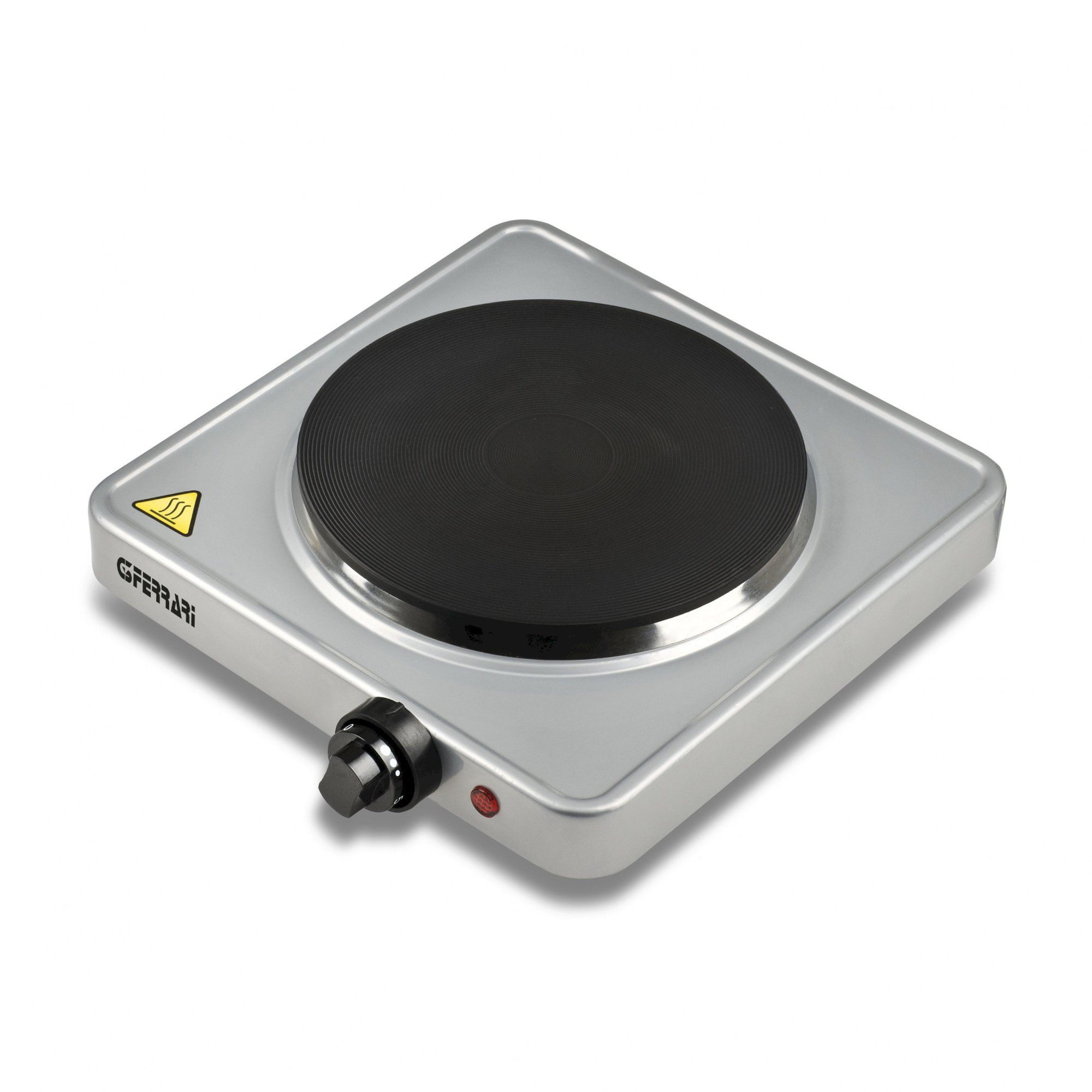 G1012100, Caldone, electric hotplate, 1500W, silver
