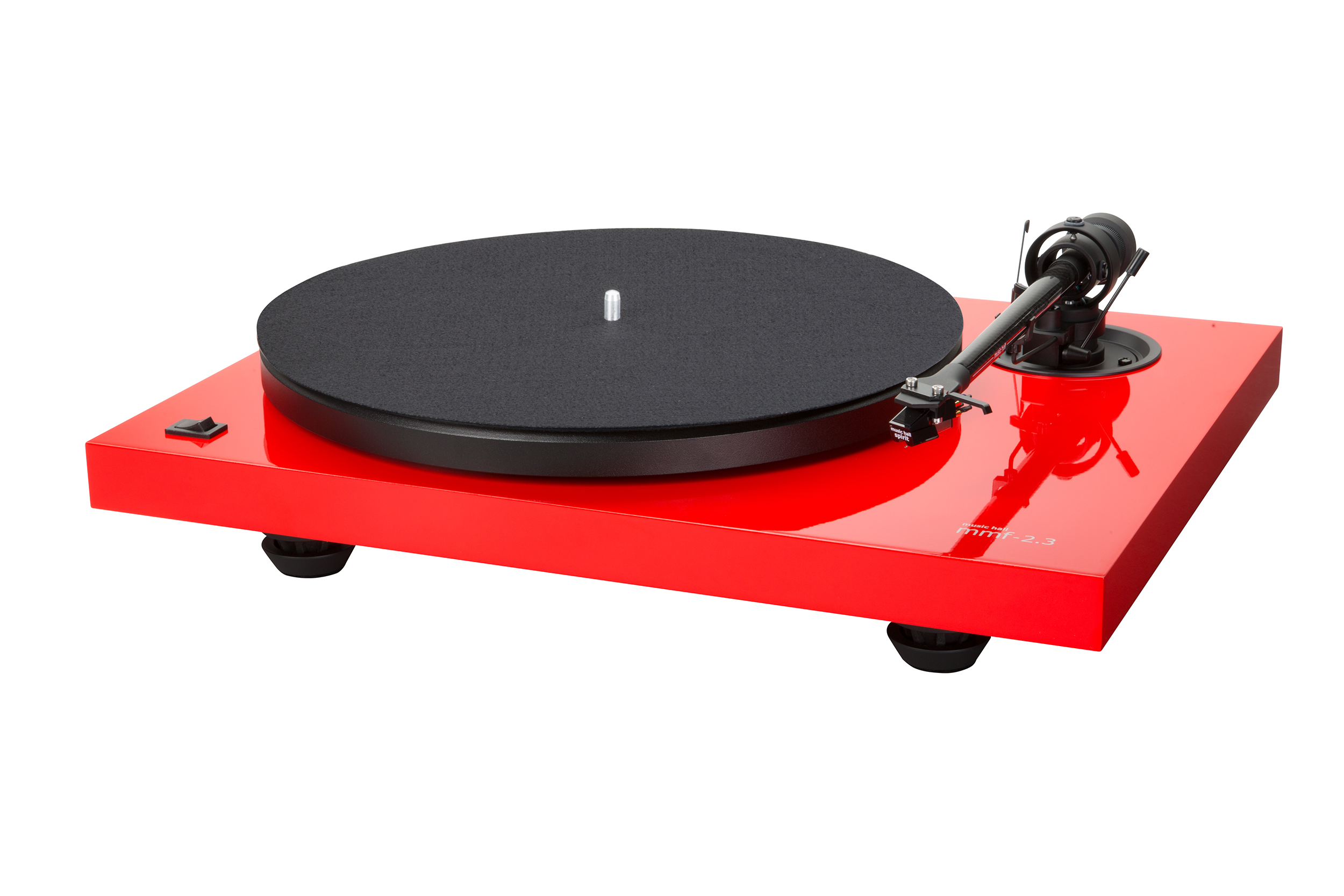 MMF-2.3LE, turntable with Spirit, red