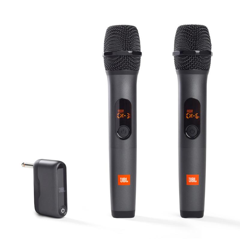 WIRELESS MIC, 2x wireless mic, black