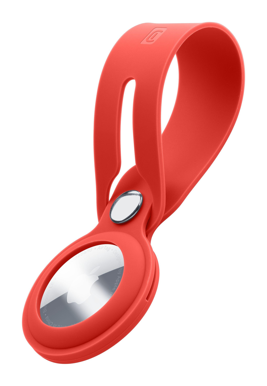 AirTag, case loop, red