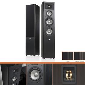 Studio 280, 3-way floorstand LS, black